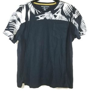Paper Denim & Cloth tropical print tshirt M